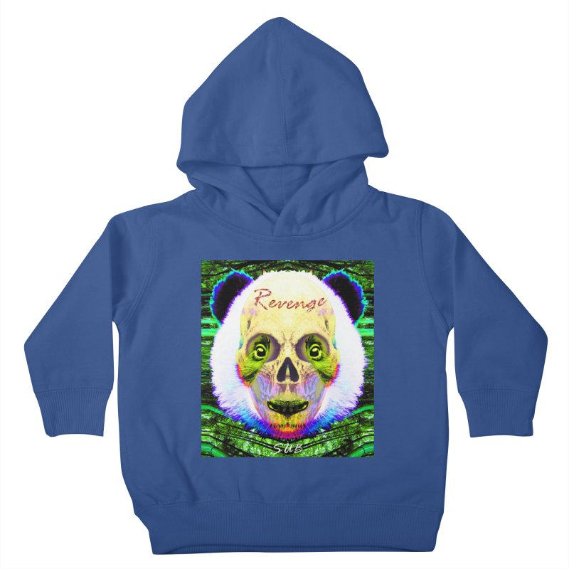 Panda Skull II Kids Toddler Pullover Hoody by SUBTERRA's Shop