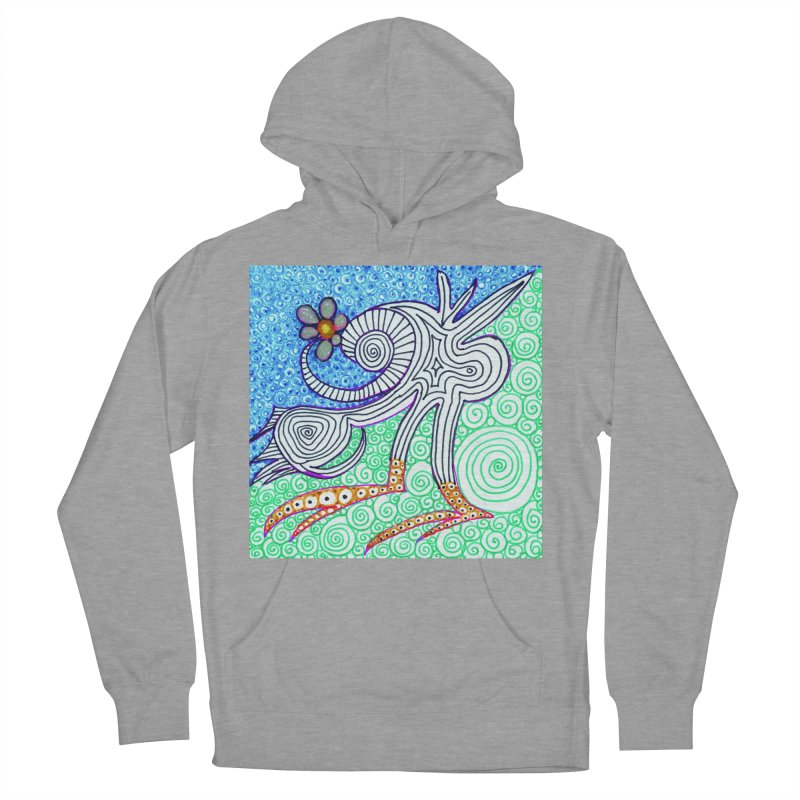 UNIQUE SUGLERI ART  Men's French Terry Pullover Hoody by SUGLERI's Artist Shop