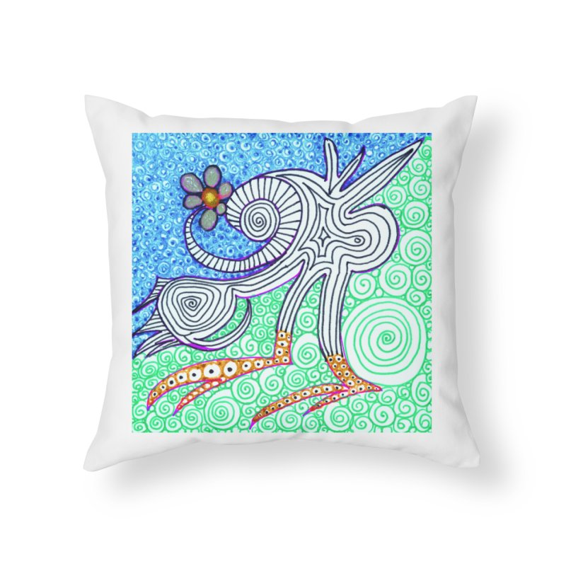 UNIQUE SUGLERI ART  Home Throw Pillow by SUGLERI's Artist Shop