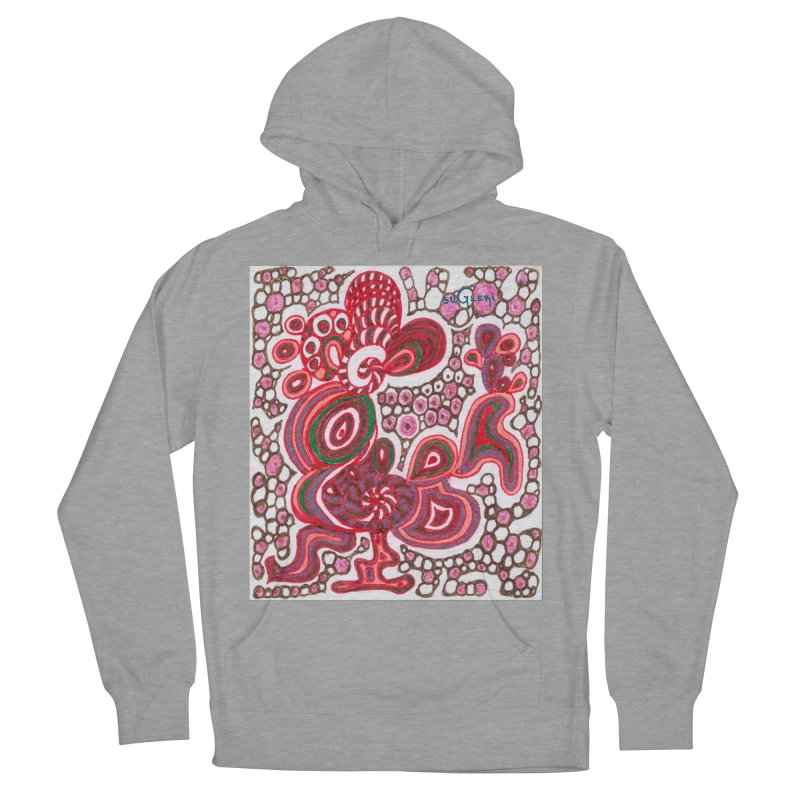 SuGleri Dia-kosmos Women's French Terry Pullover Hoody by SUGLERI's Artist Shop