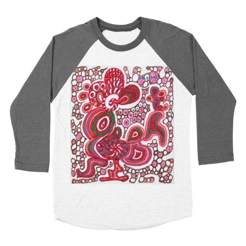 SuGleri Dia-kosmos Women's Baseball Triblend Longsleeve T-Shirt by SUGLERI's Artist Shop