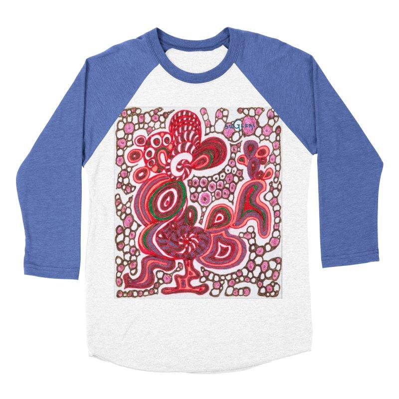SuGleri Dia-kosmos Men's Baseball Triblend Longsleeve T-Shirt by SUGLERI's Artist Shop