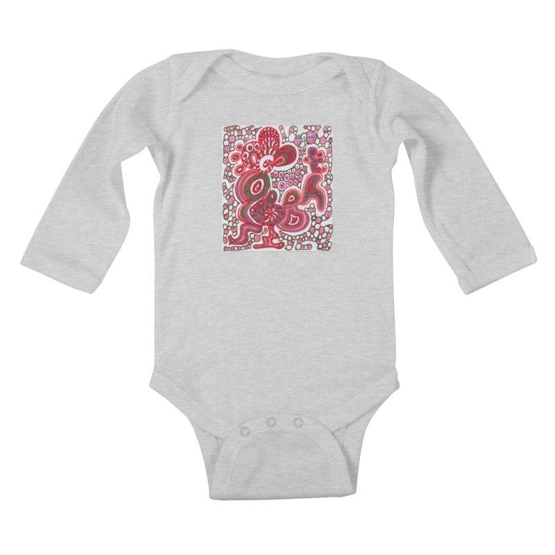 SuGleri Dia-kosmos Kids Baby Longsleeve Bodysuit by SUGLERI's Artist Shop