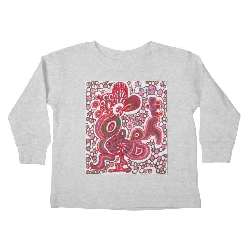 SuGleri Dia-kosmos Kids Toddler Longsleeve T-Shirt by SUGLERI's Artist Shop