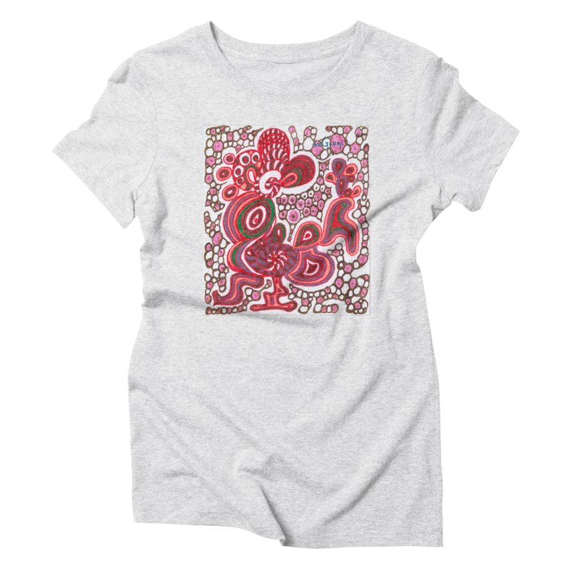 SuGleri Dia-kosmos Women's Triblend T-Shirt by SUGLERI's Artist Shop