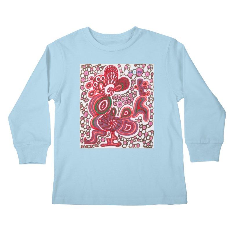 SuGleri Dia-kosmos Kids Longsleeve T-Shirt by SUGLERI's Artist Shop