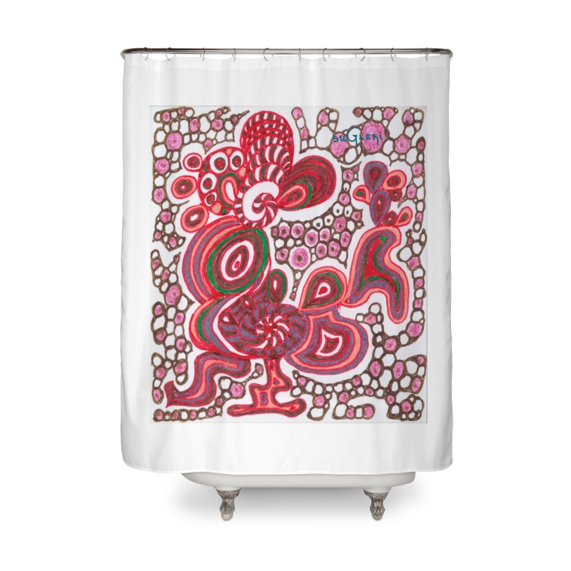 SuGleri Dia-kosmos Home Shower Curtain by SUGLERI's Artist Shop