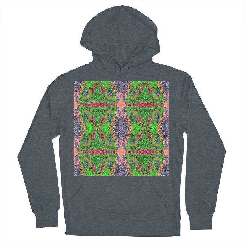 suGleri art Women's French Terry Pullover Hoody by SUGLERI's Artist Shop