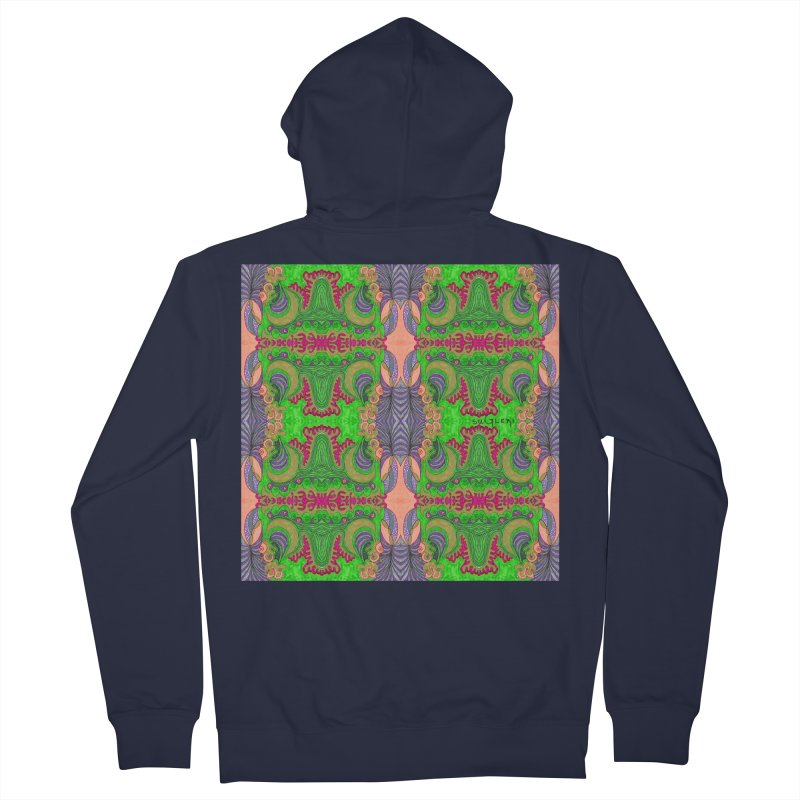 suGleri art Women's French Terry Zip-Up Hoody by SUGLERI's Artist Shop