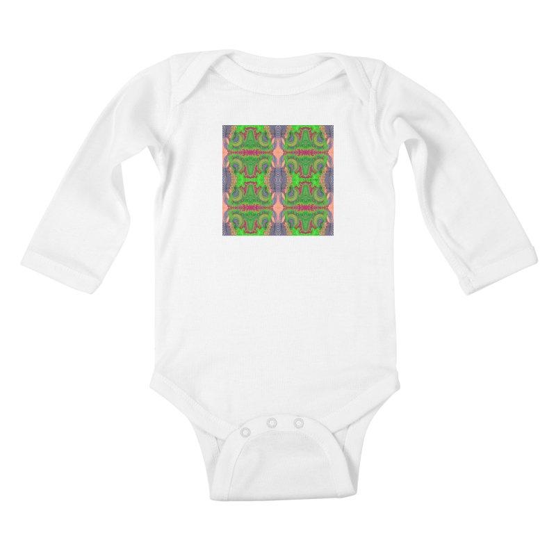 suGleri art Kids Baby Longsleeve Bodysuit by SUGLERI's Artist Shop