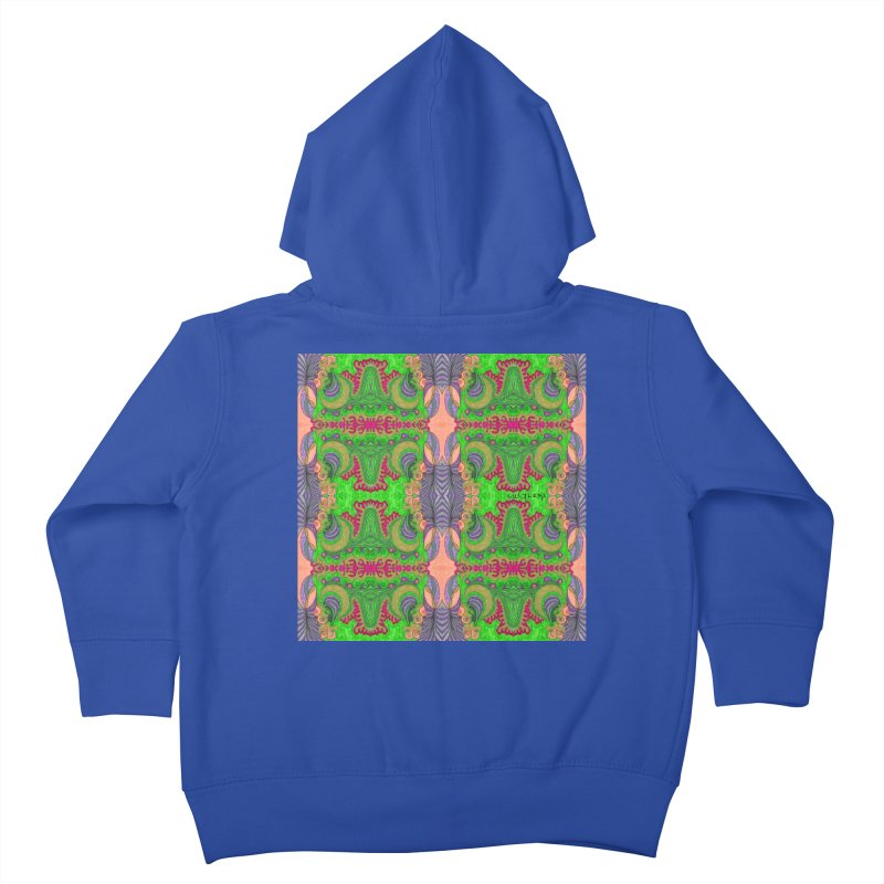 suGleri art Kids Toddler Zip-Up Hoody by SUGLERI's Artist Shop