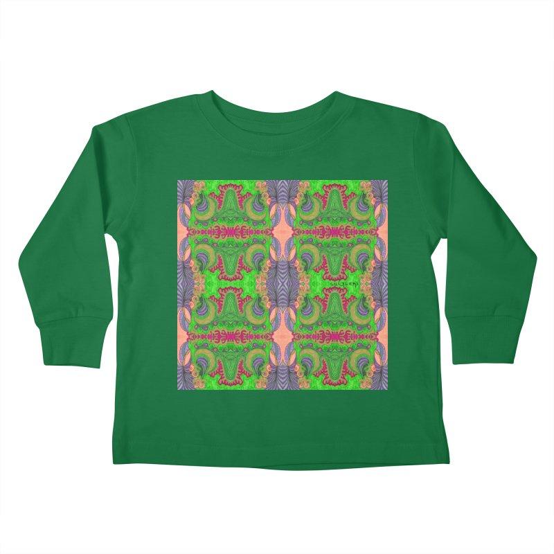 suGleri art Kids Toddler Longsleeve T-Shirt by SUGLERI's Artist Shop