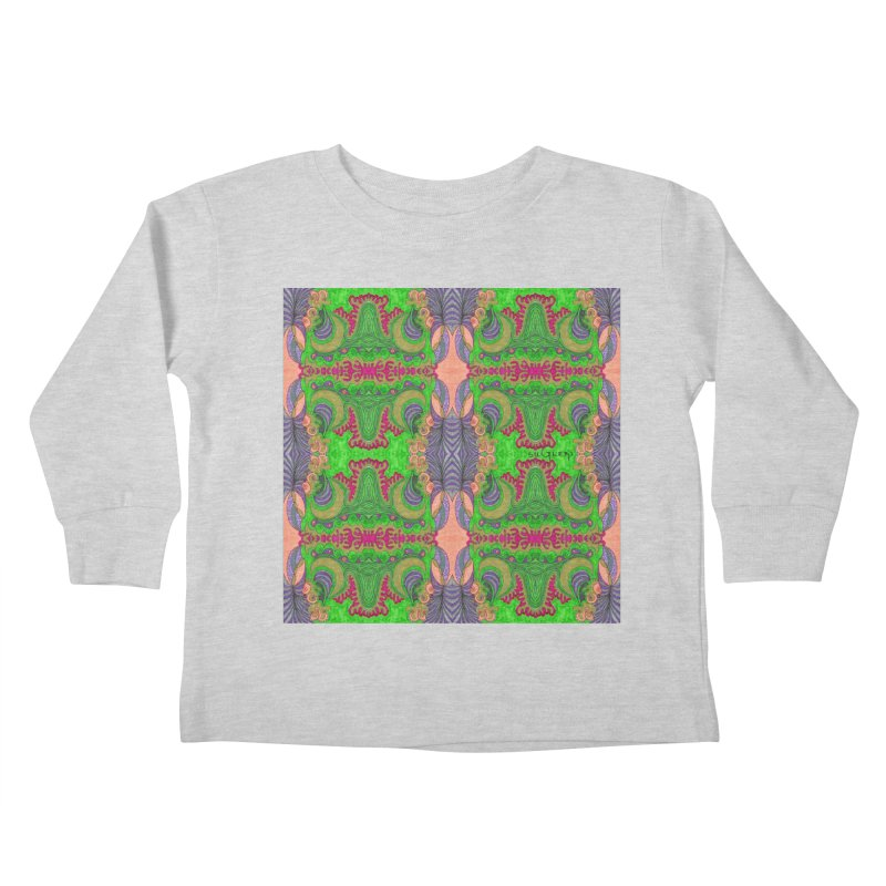 suGleri art Kids Toddler Longsleeve T-Shirt by SUGLERI's Artist Shop