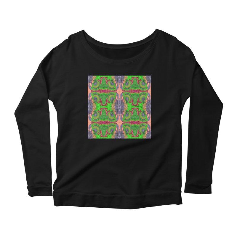 suGleri art Women's Scoop Neck Longsleeve T-Shirt by SUGLERI's Artist Shop