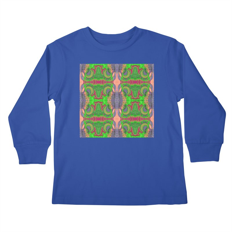 suGleri art Kids Longsleeve T-Shirt by SUGLERI's Artist Shop