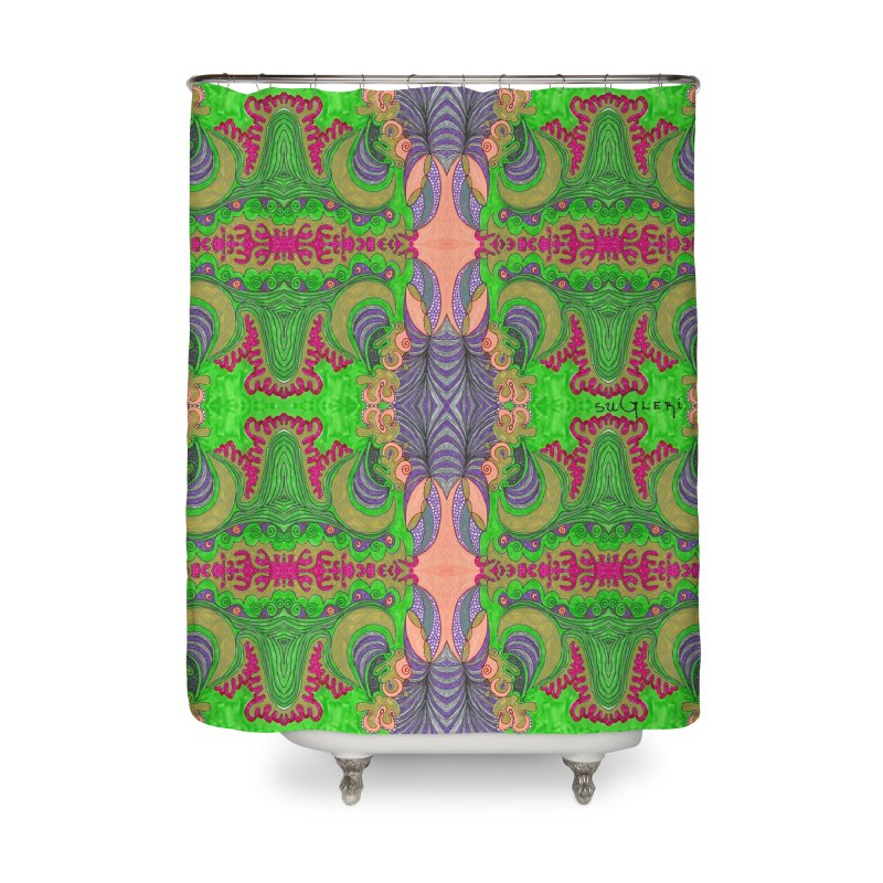 suGleri art Home Shower Curtain by SUGLERI's Artist Shop