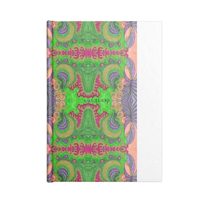 suGleri art Accessories Lined Journal Notebook by SUGLERI's Artist Shop