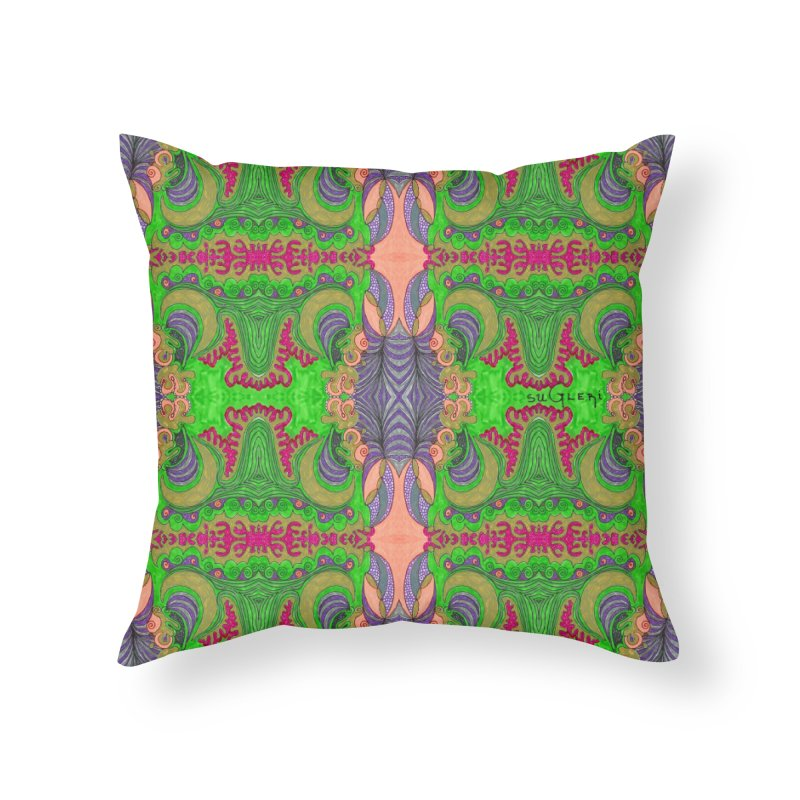 suGleri art Home Throw Pillow by SUGLERI's Artist Shop
