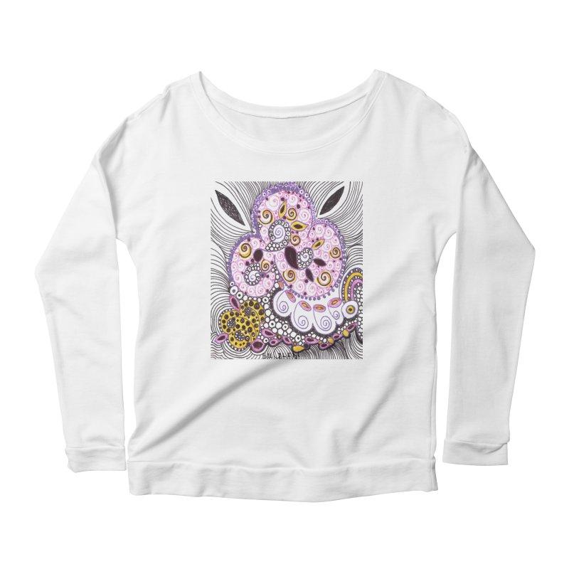 dia-kosmos suGleri Women's Scoop Neck Longsleeve T-Shirt by SUGLERI's Artist Shop
