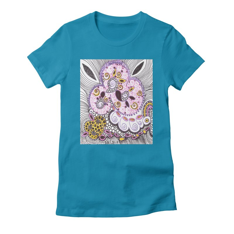 dia-kosmos suGleri Women's Fitted T-Shirt by SUGLERI's Artist Shop