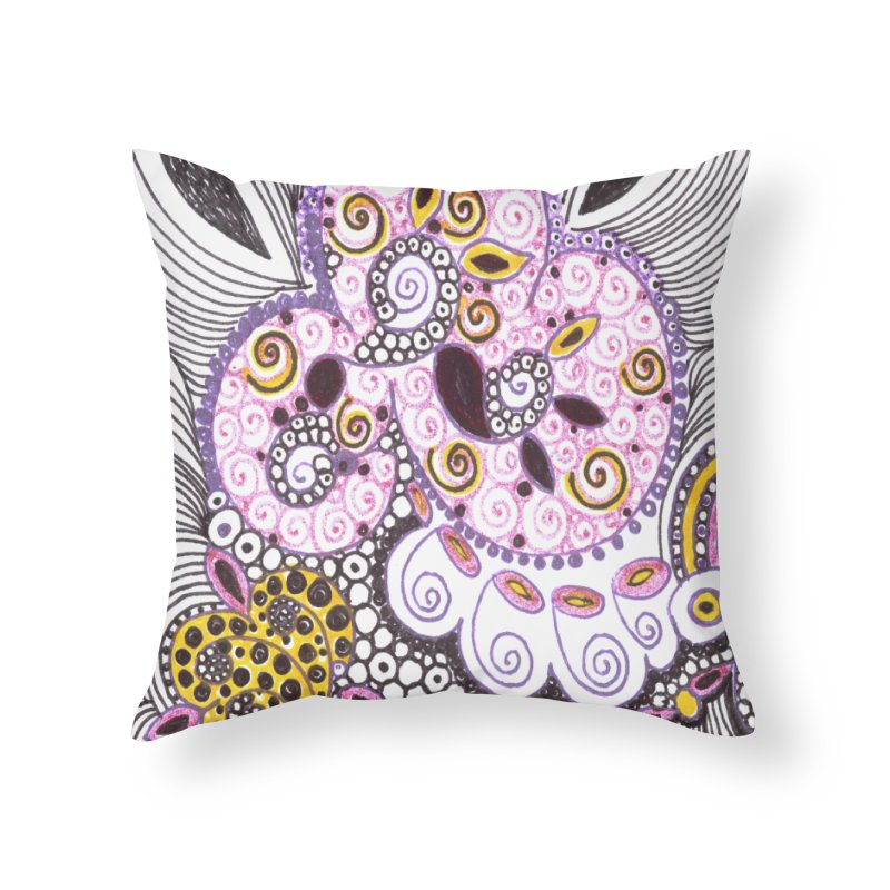 dia-kosmos suGleri Home Throw Pillow by SUGLERI's Artist Shop