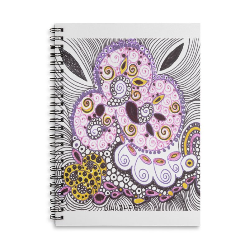 dia-kosmos suGleri Accessories Lined Spiral Notebook by SUGLERI's Artist Shop