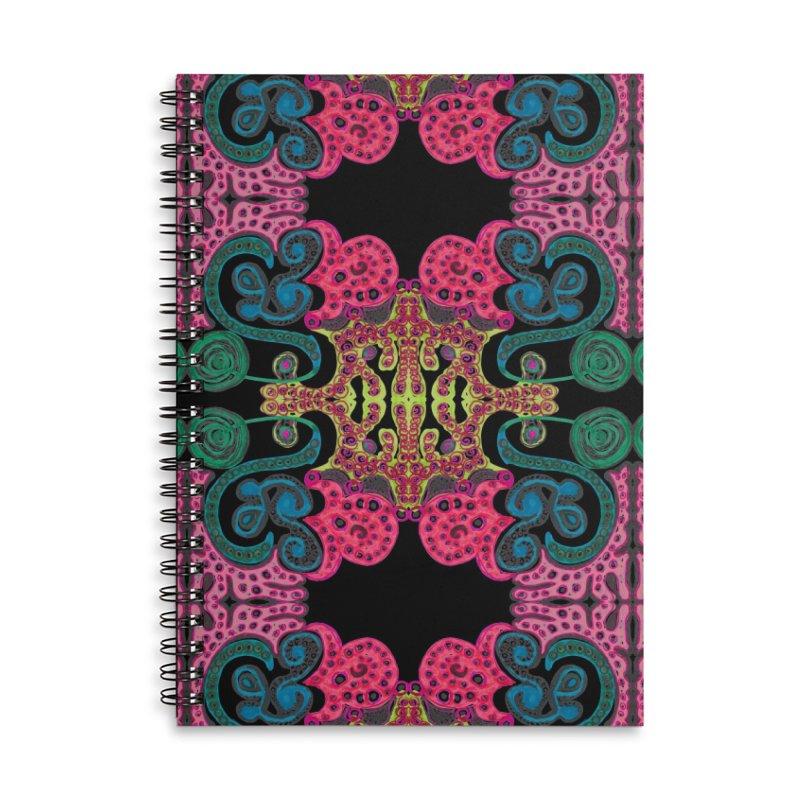 SuGleri Accessories Lined Spiral Notebook by SUGLERI's Artist Shop