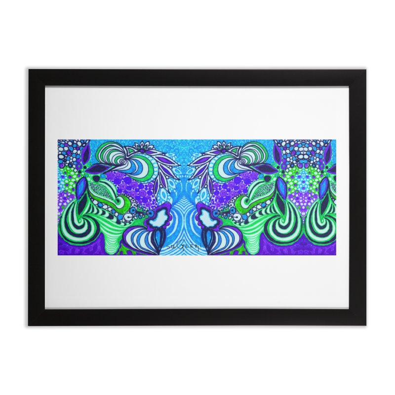 Unique SuGleri Art Home Framed Fine Art Print by SUGLERI's Artist Shop