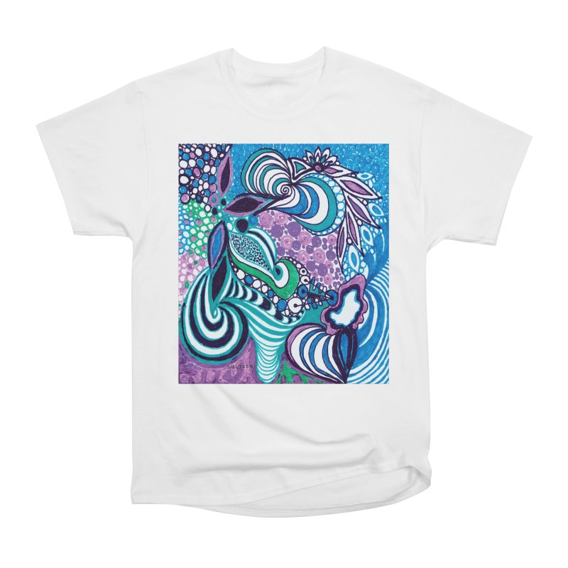 Unique SuGleri Art Women's Heavyweight Unisex T-Shirt by SUGLERI's Artist Shop
