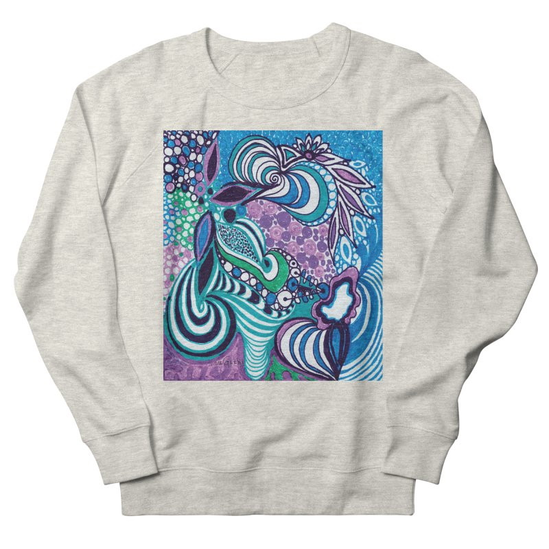 Unique SuGleri Art Men's French Terry Sweatshirt by SUGLERI's Artist Shop