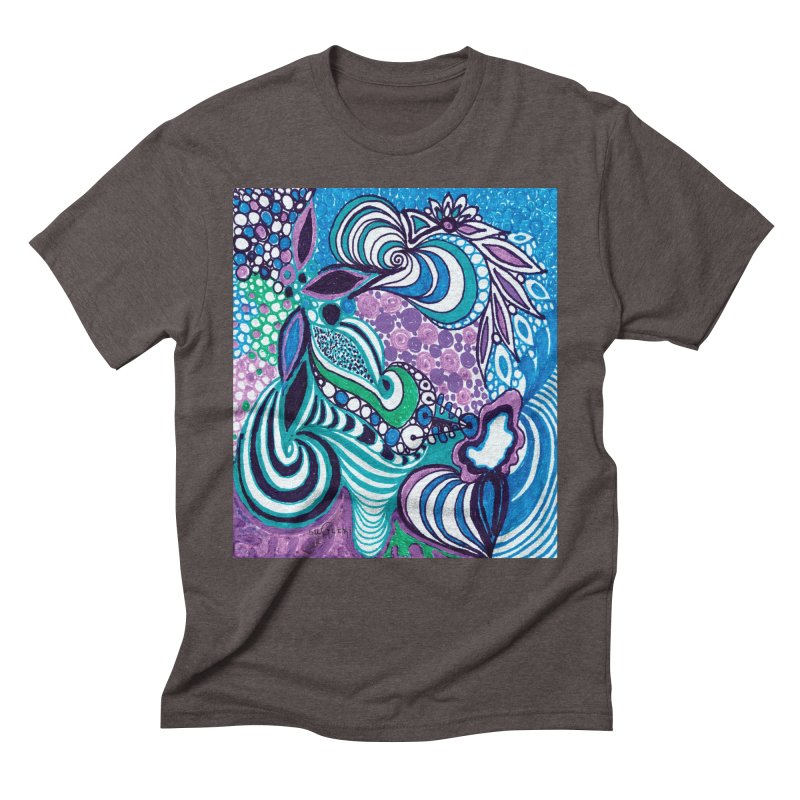Unique SuGleri Art Men's Triblend T-Shirt by SUGLERI's Artist Shop