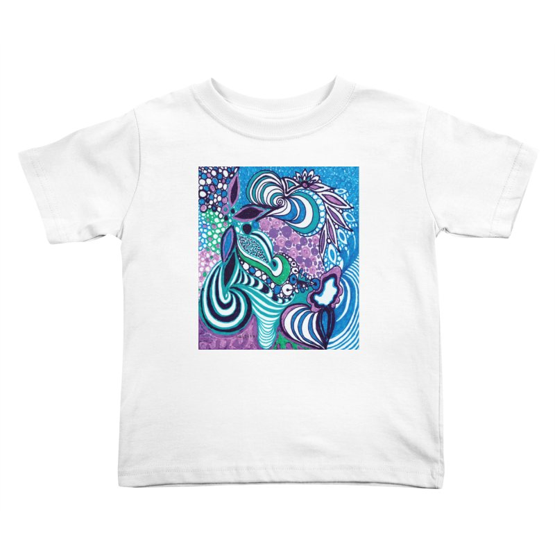 Unique SuGleri Art Kids Toddler T-Shirt by SUGLERI's Artist Shop