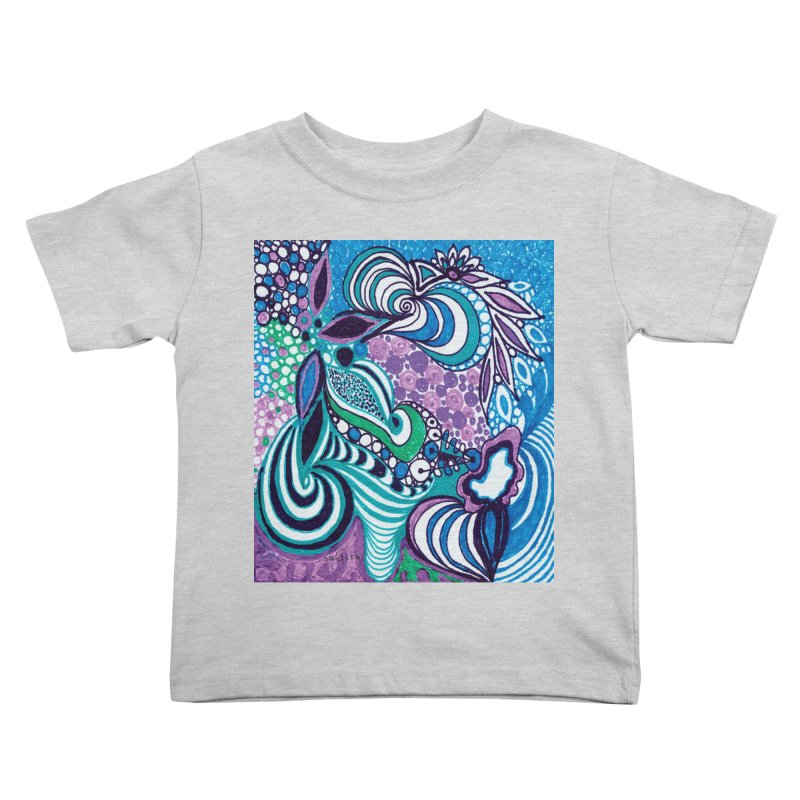 Unique SuGleri Art Kids Toddler T-Shirt by SUGLERI's Artist Shop