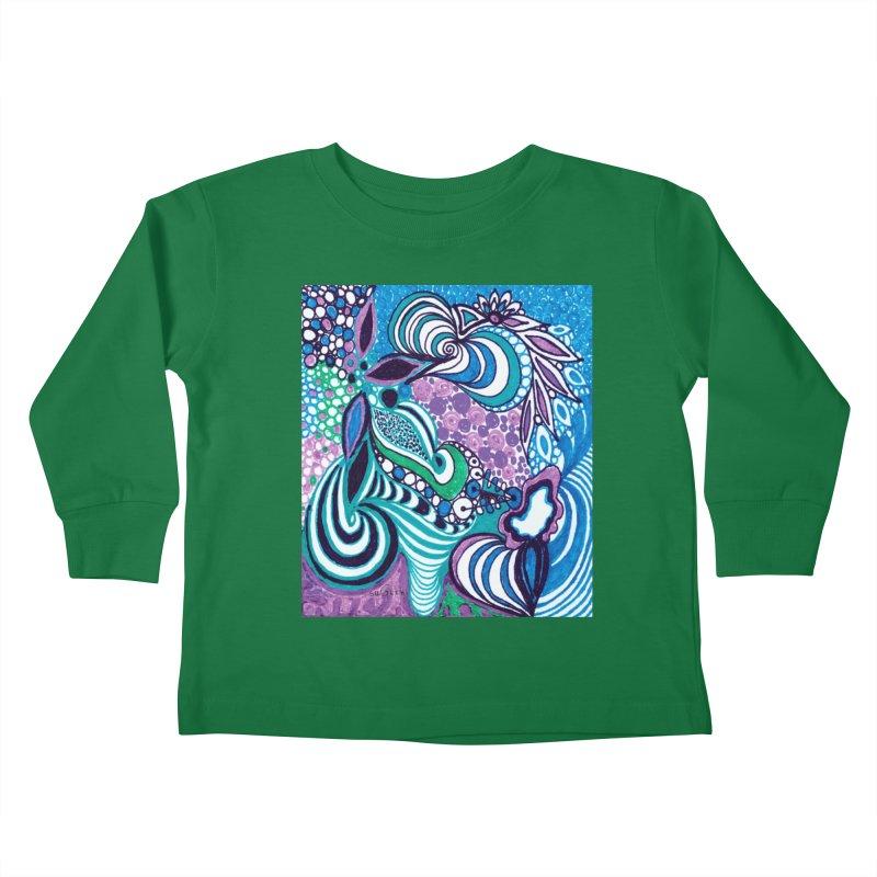 Unique SuGleri Art Kids Toddler Longsleeve T-Shirt by SUGLERI's Artist Shop