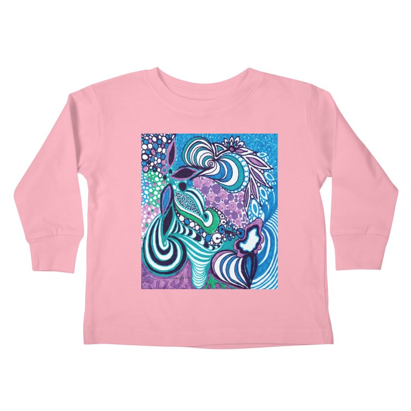 Unique SuGleri Art Kids Toddler Longsleeve T-Shirt by SUGLERI's Artist Shop