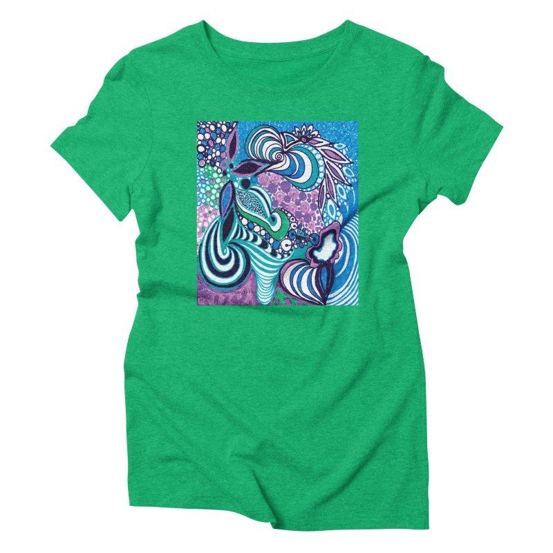 Unique SuGleri Art Women's Triblend T-Shirt by SUGLERI's Artist Shop