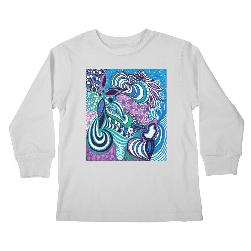 Unique SuGleri Art Kids Longsleeve T-Shirt by SUGLERI's Artist Shop