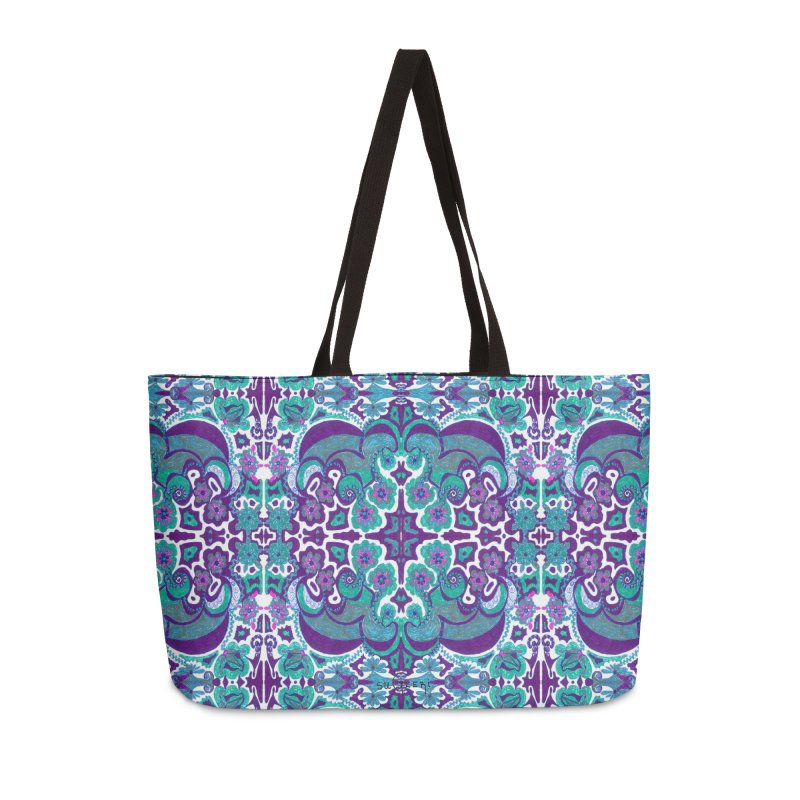 suGleri Accessories Weekender Bag Bag by SUGLERI's Artist Shop