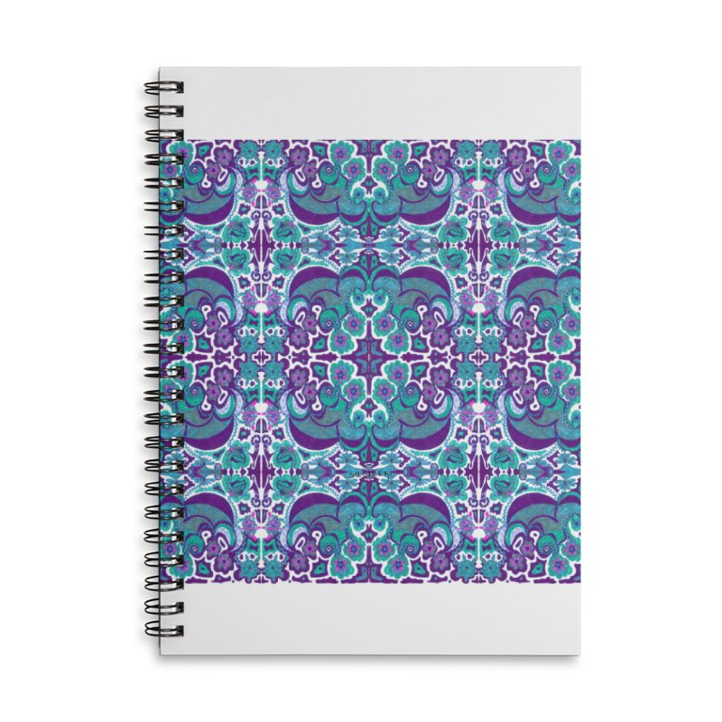 suGleri Accessories Lined Spiral Notebook by SUGLERI's Artist Shop