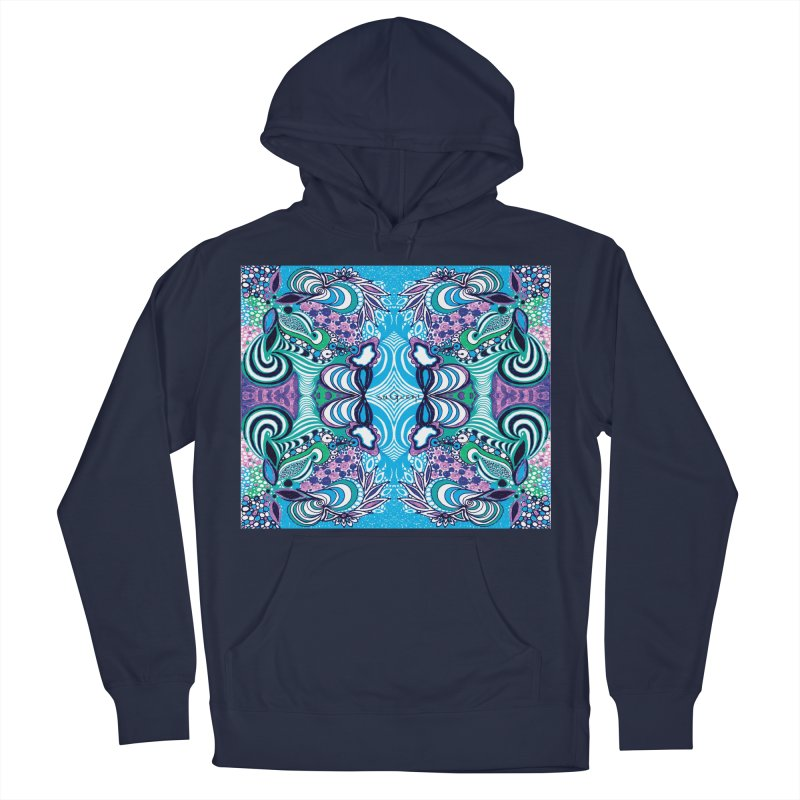 UNIQUE SUGLERI ART Women's French Terry Pullover Hoody by SUGLERI's Artist Shop