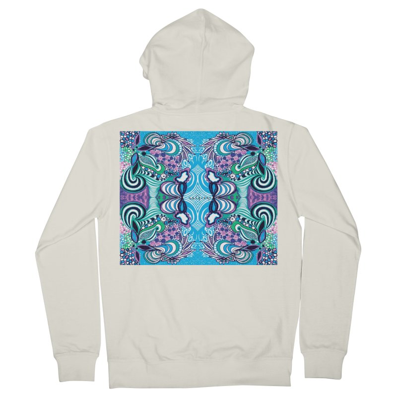 UNIQUE SUGLERI ART Women's French Terry Zip-Up Hoody by SUGLERI's Artist Shop