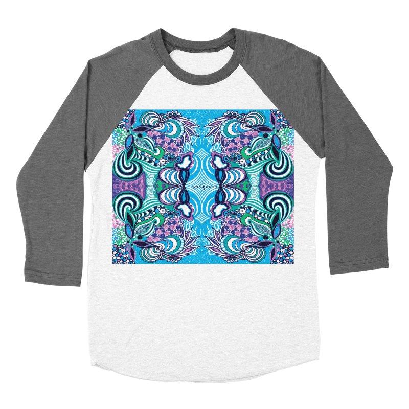 UNIQUE SUGLERI ART Women's Baseball Triblend Longsleeve T-Shirt by SUGLERI's Artist Shop