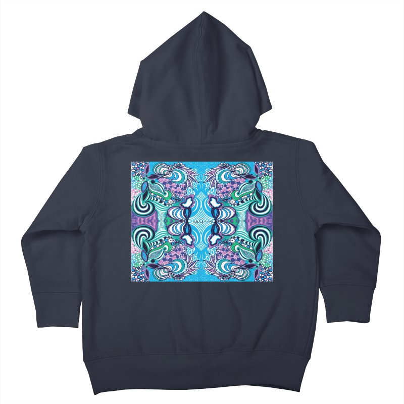 UNIQUE SUGLERI ART Kids Toddler Zip-Up Hoody by SUGLERI's Artist Shop