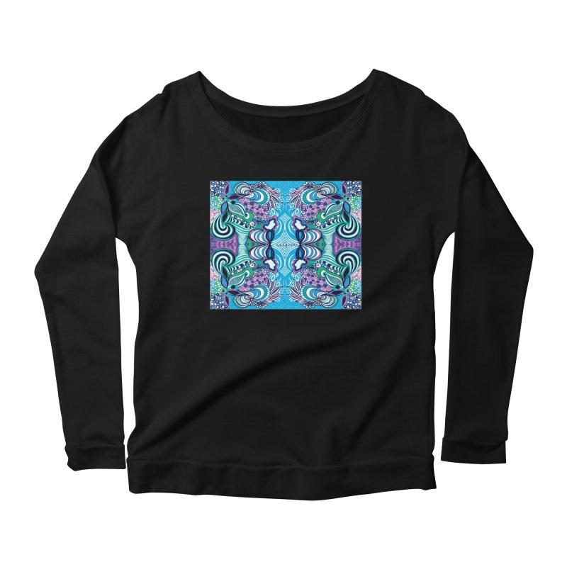 UNIQUE SUGLERI ART Women's Scoop Neck Longsleeve T-Shirt by SUGLERI's Artist Shop