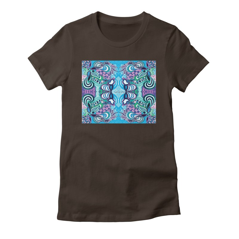 UNIQUE SUGLERI ART Women's Fitted T-Shirt by SUGLERI's Artist Shop