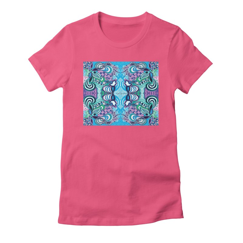 UNIQUE SUGLERI ART Women's Fitted T-Shirt by SUGLERI's Artist Shop