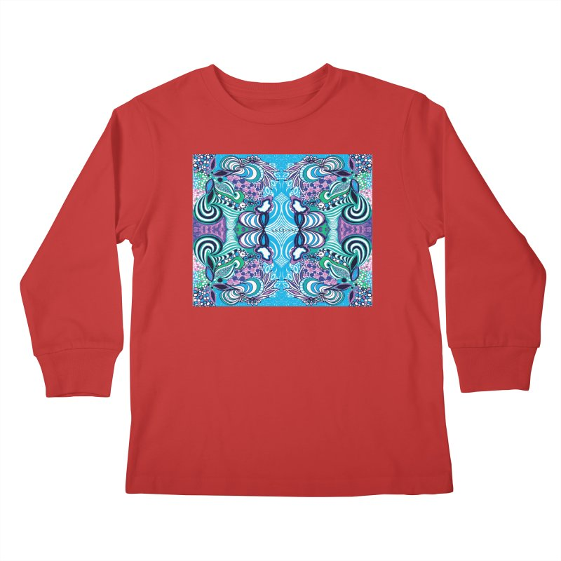 UNIQUE SUGLERI ART Kids Longsleeve T-Shirt by SUGLERI's Artist Shop