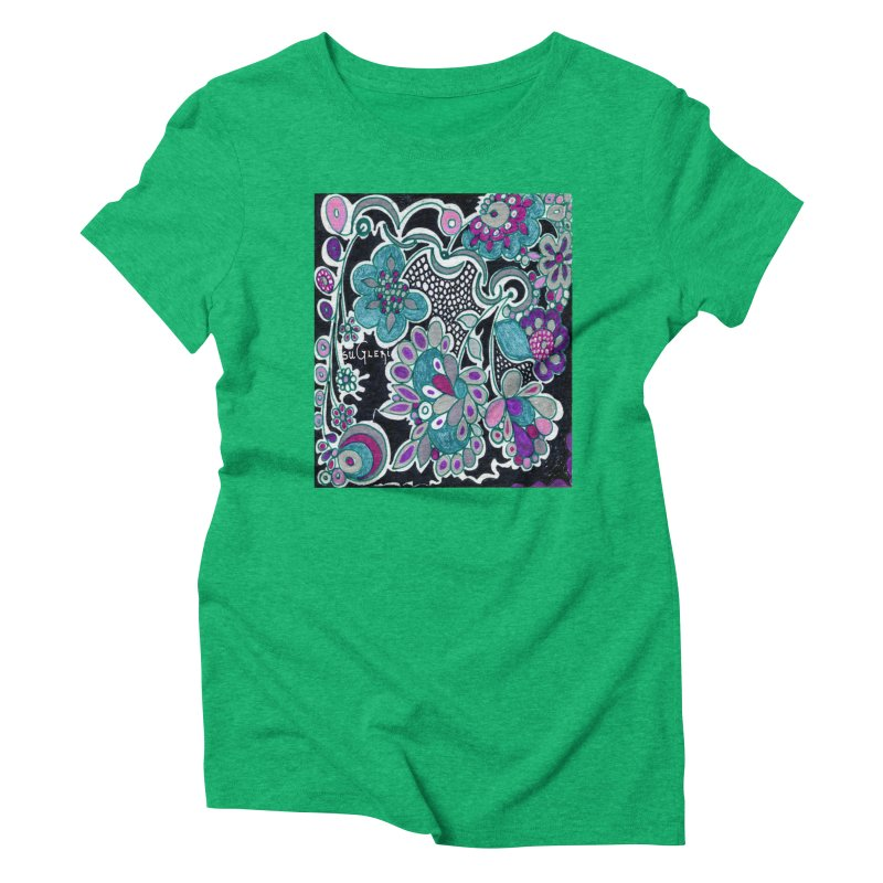 Unique Sugleri Art Women's Triblend T-Shirt by SUGLERI's Artist Shop