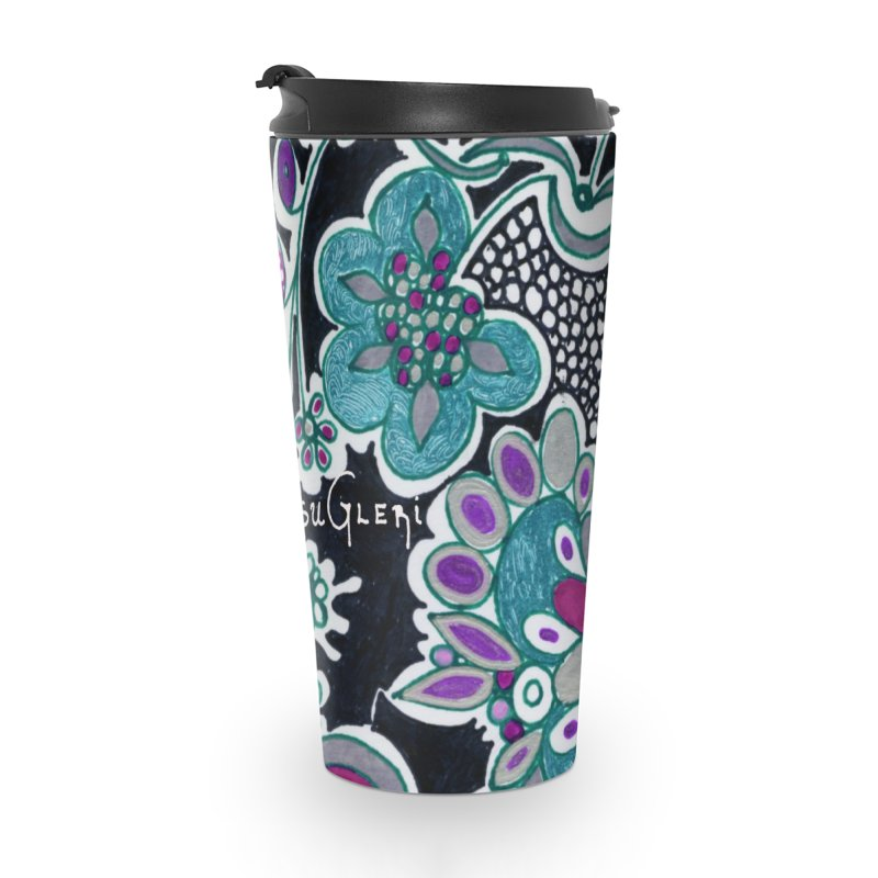 Unique Sugleri Art Accessories Travel Mug by SUGLERI's Artist Shop
