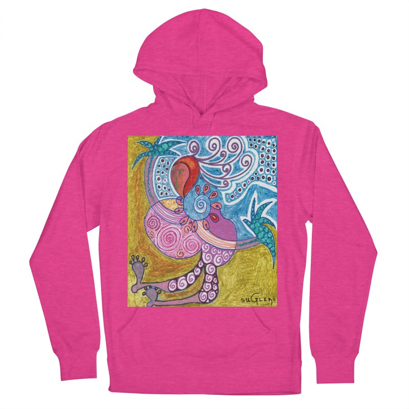 Women's French Terry Pullover Hoody by SUGLERI's Artist Shop